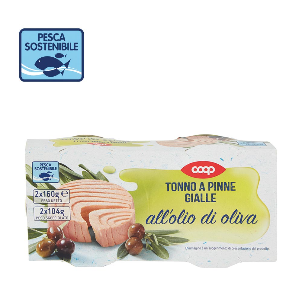 TONNO A PINNE GIALLE COOP
